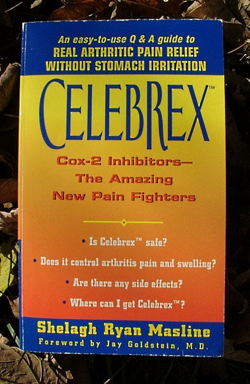 Why is this Celebrex book cover  deceptive?